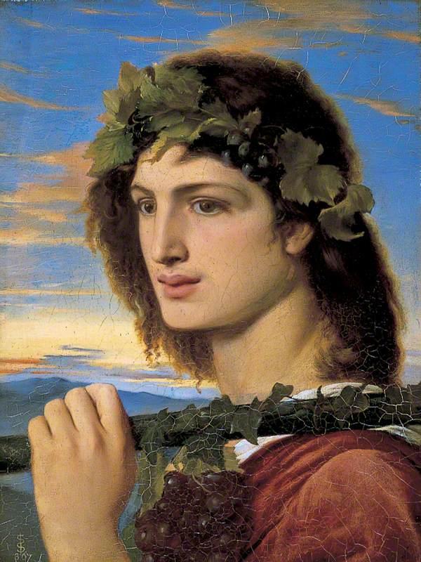 Solomon, Simeon, 1840-1905; Bacchus