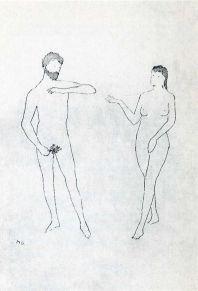 Marcel Duchamp, 'Selected Details after Cranach'