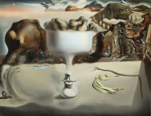 Salvador Dali, 'Apparition of Face and Fruit Dish on a Beach'