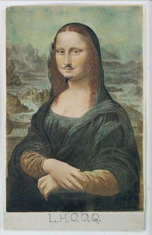 Marcel Duchamp, 'LHOOQ'