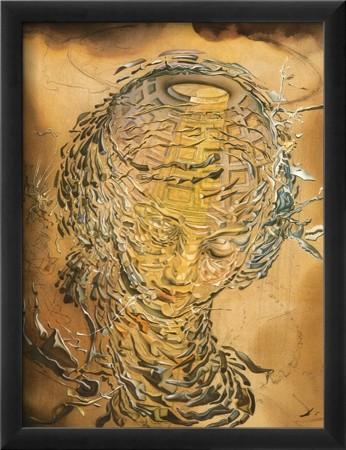 Salvador Dali, 'Exploding Raphaelesque Head'