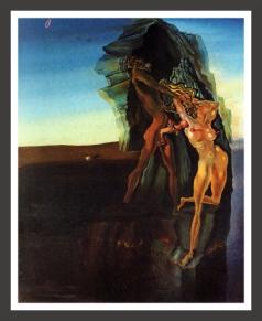 Salvador Dali, 'William Tell and Gradiva'