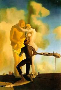 Salvador Dali, 'Meditation on the Harp'